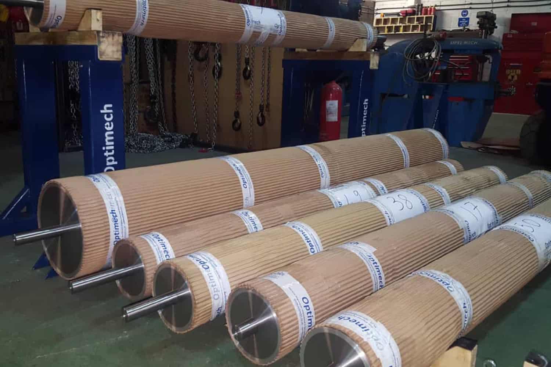 Carbon fibre manufacturing line