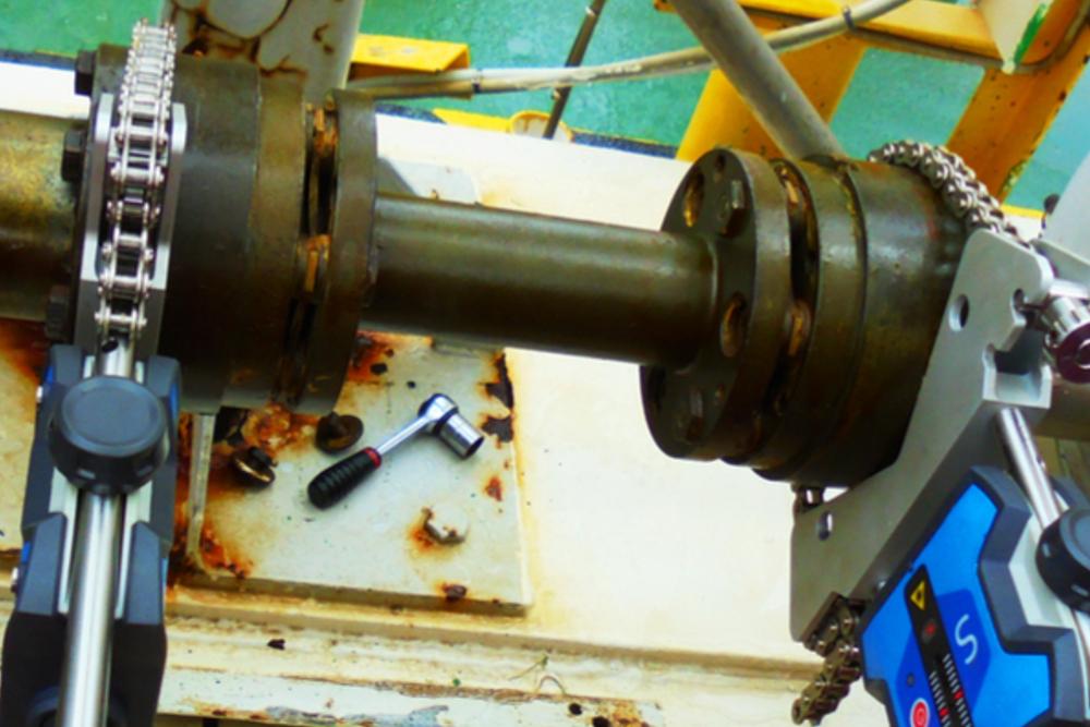 Laser Shaft Alignment | Optimech
